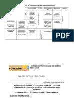 proyecto comision pedagogica
