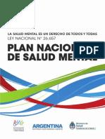 Plan Nacional Salud Mental