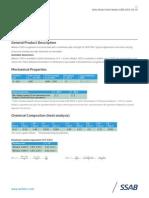 144 WELDOX 1300 UK Special Data Sheet