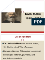 Revised Karl Marx