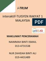 TAKLIMAT ITR1M