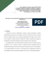 Identificação de Sistemas Dinâmicos Não-lineares No Domínio Da