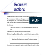11 Recursive Functions