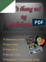 Uri Ng Produksyon (economics)