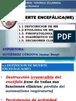 Muerte Encefalica. Gutiérrez Córdova Isamar