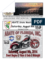 Southwest Chapter of ABATE of Florida August 2014