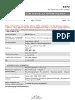 FISPQ Weber Parede Quartzolit REV00 VS00