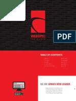 Webspec Design Marketing Booklet