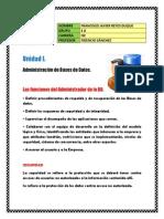 Resumen U1 - BD