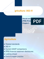 IAS 41 - Agriculture