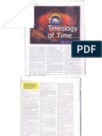Teleology of time