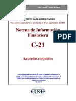 NIF_C-21 - Acuerdos Conjuntos