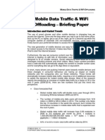 Mobile Data Traffic & WiFi Offloading - Briefing Paper (2010)
