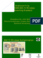 Breaking and Fixing the IEEE 802.11i Wireless Networking Standard (2005)