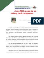 Gustavo Arja Castañon - O Capítulo do MEC - ponta do iceberg (anti) pedagógico.pdf