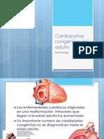 Cardiopatías Congénitas Del Adulto