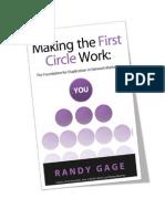 Making the First Circle Work - Randy Gage