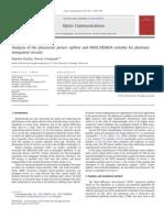 12_Analysis of the Plasmonic Power Splitter and MUX DEMUX Suitable for Photonic IC
