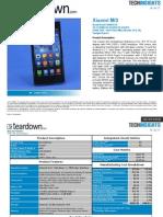 Mobile Devices Deep Dive Sample Report Xiaomi MI3