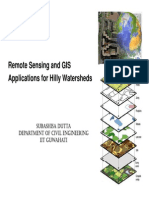 GIS Application for Hilly Watershed