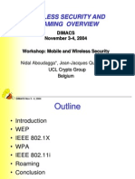 10_WIRELESS SECURITY AND ROAMING  OVERVIEW_2004.ppt