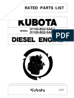 Kubota Engine D1105