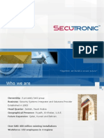 Secutronic Group Presentation