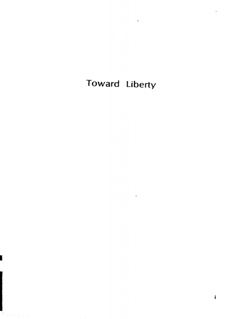 Toward Liberty [Essays in Honor of Ludwig Von Mises] Vol.1 [Ed]by ...