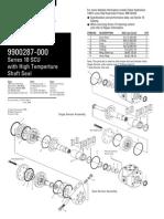 Eaton steering unit