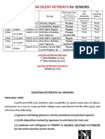 2015 Retreat Info