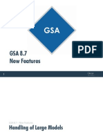 GSA V8.7 New Features