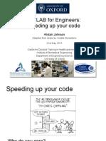 Speeding Up Your Code