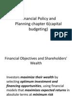 Principels of Capital Investment -