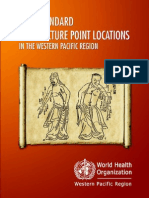 World Health Organization - WHO Standard Accupuncture Point Locations