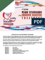 Final-Chronic Dialysis Treatment Standards -Nov 2012[1]