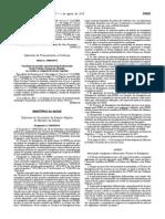 Despacho 9958-2014 de 1 de Agosto - Estabelece as Competências Dos Técnicos de Emergência