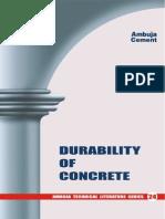 24 Durability of Concrete