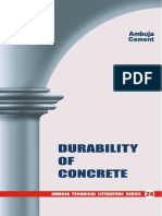 24 Durability of Concrete
