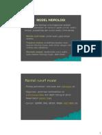 Model Hidrologi