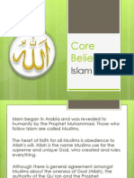 core beliefs islam-2