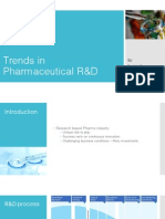 Trends in Pharmaceutical R&D