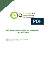 Las denuncias sinérgicas del ecologismo y del feminismo - Marta Pascual Rodríguez