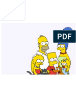 Simpsons Family Picture