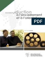 Introduction a l Encadrement Et a l Orientation