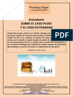 Kutxabank. SOBRE EL CASO PUJOL Y EL CASO KUTXABANK