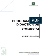 Programacin Didctica de Trompeta