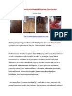 Orange County Hardwood Flooring Contractor