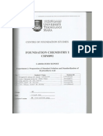 Chemistry Lab Report 2