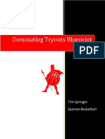 Dominating Tryouts Blueprint 3.0