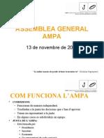 PRESENTACION ASAMBLEA NOVEMBRE 2008